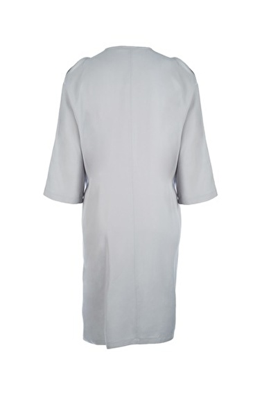 Silk and Cashmere Tunik Gri